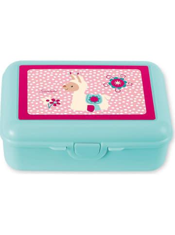 Sterntaler Lunchbox w kolorze turkusowo-różowym - 19 x 14 cm