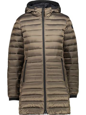CMP Płaszcz puchowy w kolorze jasnobrązowym
