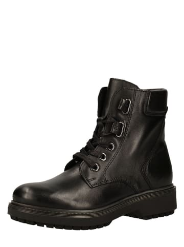Marco Tozzi Leren boots zwart
