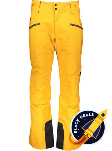 """Peak Performance Spodnie narciarskie """"Scoot"""" w kolorze żółtym"""