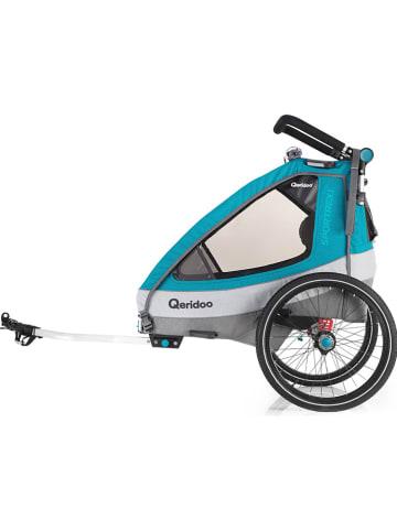"Qeridoo 3-in-1 transportmiddel ""Sportrex1"" petrol"