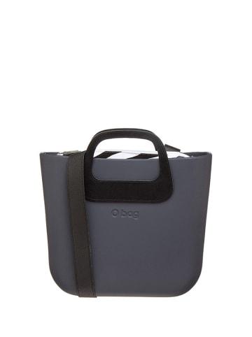 "O Bag Handtas ""O Bag Mini"" grijs/zwart - (B)35 x (H)28 x (D)10 cm"