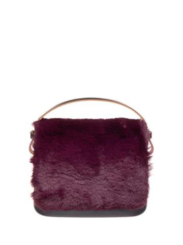 """O Bag Handtas """"O Pocket"""" paars/grijs - (B)19 x (H)13 x (D)6 cm"""