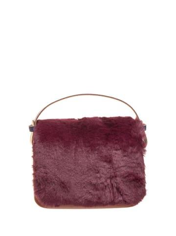"O Bag Handtas ""O pocket"" rood - (B)19 x (H)13 x (D)6 cm"