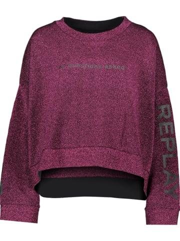 Replay Sweatshirt paars