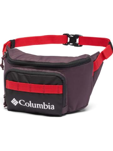 "Columbia Heuptas ""Zigzag"" auberginekleurig/rood"