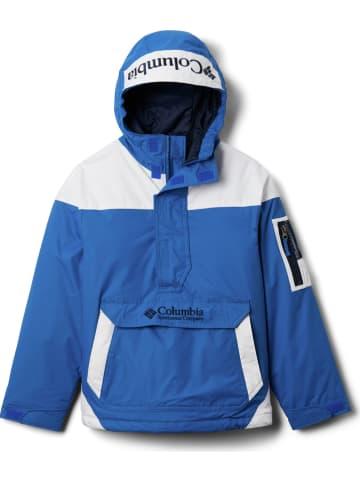 """Columbia Kurtka funkcyjna """"Challenger"""" w kolorze niebiesko-białym"""