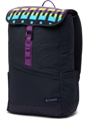 "Columbia Plecak ""Falmouth"" w kolorze czarnym ze wzorem"
