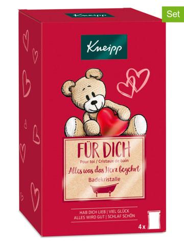"""Kneipp 8tlg. Set Badekristalle """"Für Dich"""", je 60 g"""