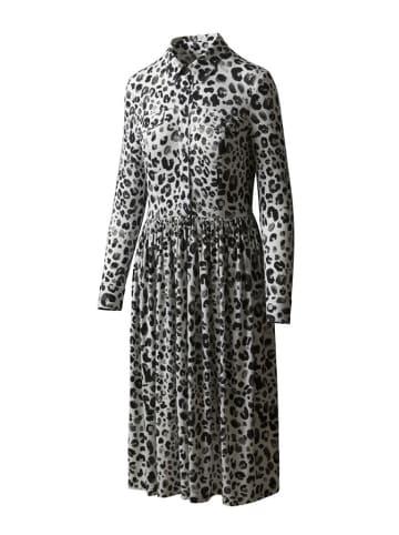 """Risk made in warsaw Sukienka """"Ciao Bella"""" w kolorze biało-czarnym"""