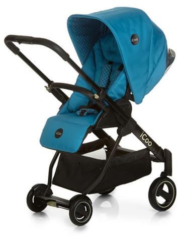 "ICoo Combi-kinderwagen ""Acrobat XL Plus Trioset Diamond"" turquoise"