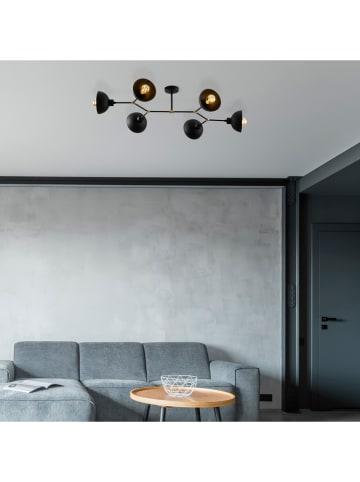 """ABERTO DESIGN Lampa sufitowa """"Dram"""" w kolorze czarnym - 102 x 52 cm"""