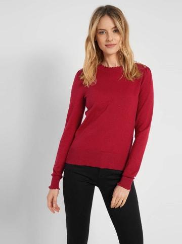 Orsay Sweter w kolorze czerwonym