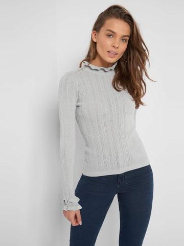 Orsay Sweter w kolorze szarym