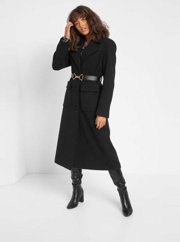 Orsay Płaszcz w kolorze czarnym