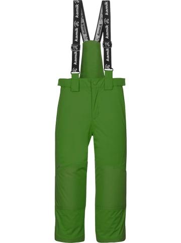 """Kamik Spodnie narciarskie """"Harper"""" w kolorze zielonym"""