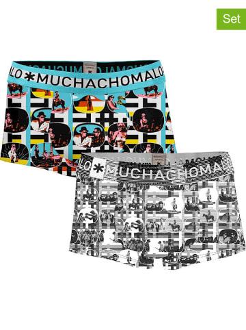 Muchachomalo Bokserki (2 pary) z kolorowym wzorem