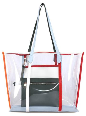 Beverly Hills Polo Club Shopper bag ze wzorem - 40 x 35 x 16 cm