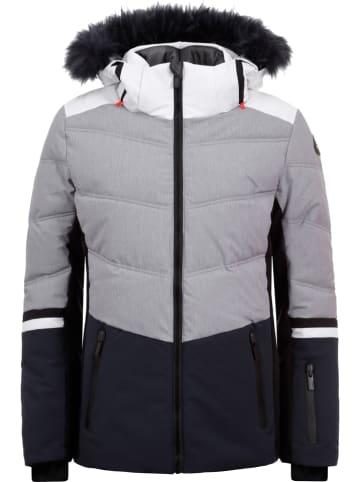 "Icepeak Ski-/snowboardjas ""Electra"" grijs/donkerblauw"