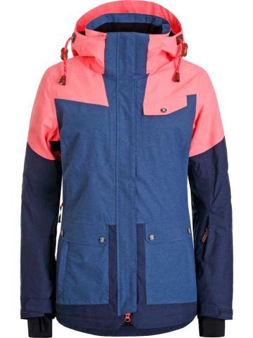 "Icepeak Ski-/ Snowboardjacke ""Cholet"" in Blau/ Rosa"