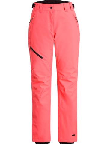 """Icepeak Spodnie narciarskie """"Curlew"""" w kolorze czerwonym"""