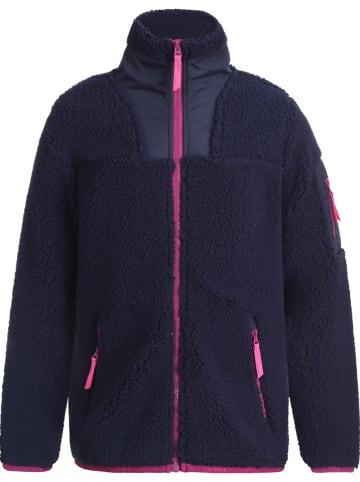 "Icepeak Fleece vest ""Kennebec"" donkerblauw"