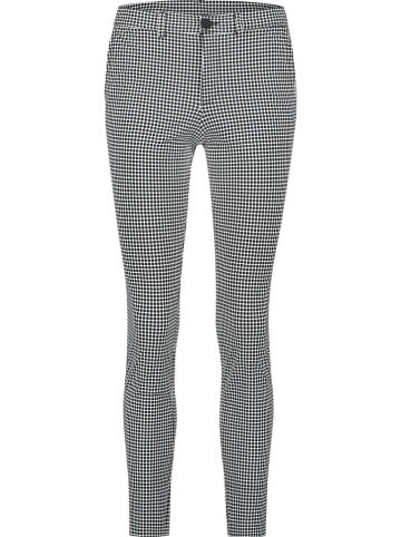 PENN&INK N.Y Hose - Skinny fit - in Schwarz/ Weiß