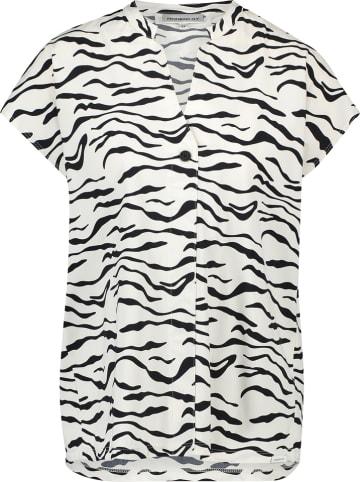 PENN&INK N.Y Shirt in Weiß/ Schwarz