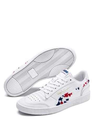 "Puma Leren sneakers ""Ralph Sampson Lo Collegiate"" wit"