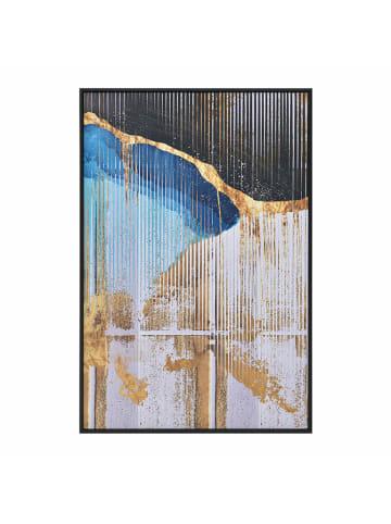 InArt InArt Bilder & Poster  in schwarz_blau_weiß_gold