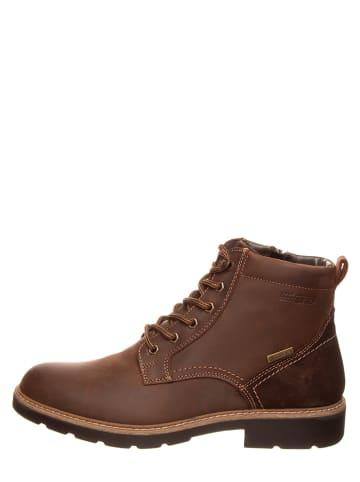 "SALAMANDER Leren boots ""Ramport"" lichtbruin"