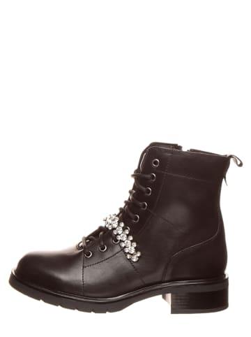 "SALAMANDER Leder-Boots ""Albie"" in Schwarz"
