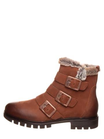 "SALAMANDER Leren boots ""Emporie"" lichtbruin"