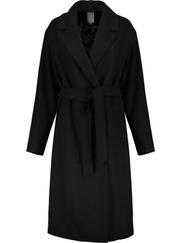 Geisha Wollen mantel zwart
