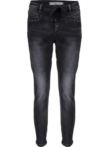 Geisha Spijkerbroek - skinny fit - zwart