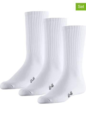 Unifit 3er-Set: Tennissocken in Weiß