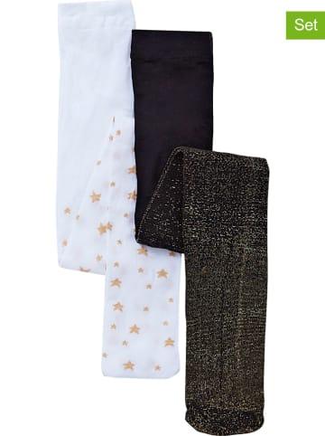 Vertbaudet 2-delige set: maillots zwart/wit
