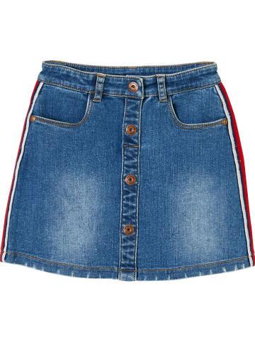 Vertbaudet Spódnica dżinsowa w kolorze niebieskim