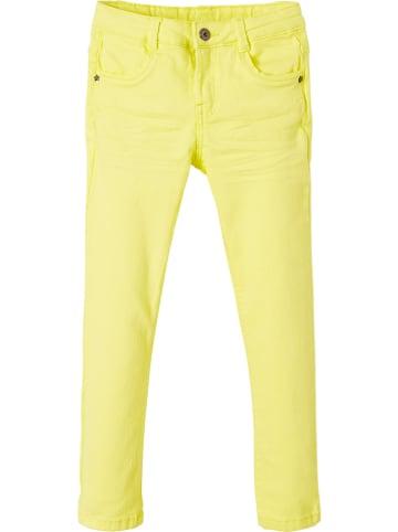 Vertbaudet Spodnie w kolorze żółtym