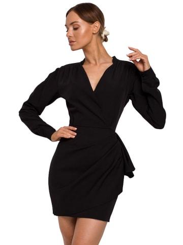 Made of emotion Sukienka w kolorze czarnym