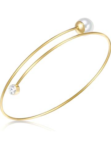 Nova Pearls Copenhagen Vergulde armband met parel en edelsteen