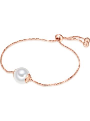 Nova Pearls Copenhagen Pozłacana bransoletka z perłą