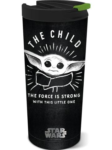 """Stor Kaffeebecher """"The Child"""" in Schwarz - 425 ml"""