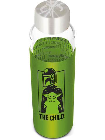 """Stor Trinkflasche """"The Child"""" in Grün/ Transparent - 585 ml"""
