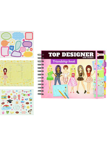 """Toi-Toys Freundschaftsbuch """"Top Designer"""" - ab 6 Jahren"""