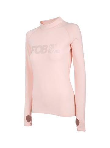 4F Functioneel shirt lichtroze