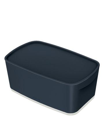 "Leitz Opbergbox ""MyBox . Cosy"" antraciet - (B)31,8 x (H)12,8 x (D)19,1 cm"