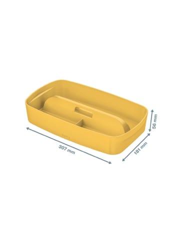 "Leitz Organizer ""MyBox - Cosy"" geel - (B)30,7 x (H)5,6 x (D)18,1 cm"