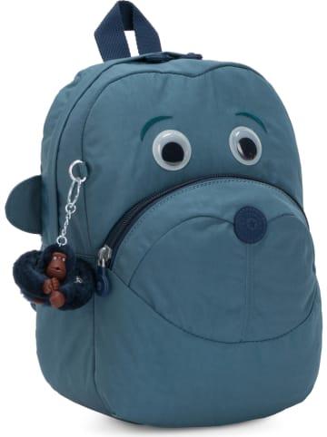 "Kipling Plecak ""Faster"" w kolorze niebieskim - 21 x 28 x 19 cm"