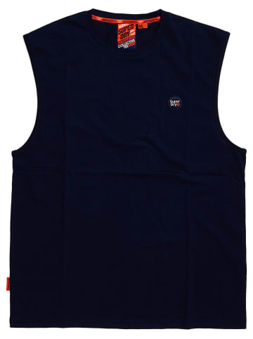 """Superdry Top """"Collective"""" donkerblauw"""